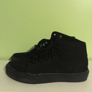 Black Vans size 9!